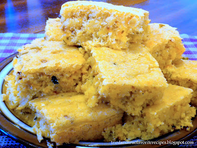 Tried and true favorite recipes moist mexican cornbread