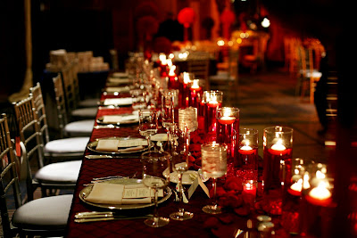 Our gorgeous head table with