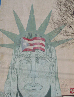 Image result for puerto rican statue of liberty mural philadelphia