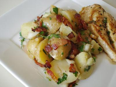 Hot Potato Salad with Bacon