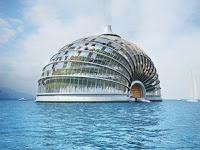 Bangunan Masa Depan Untuk Hidup di Laut