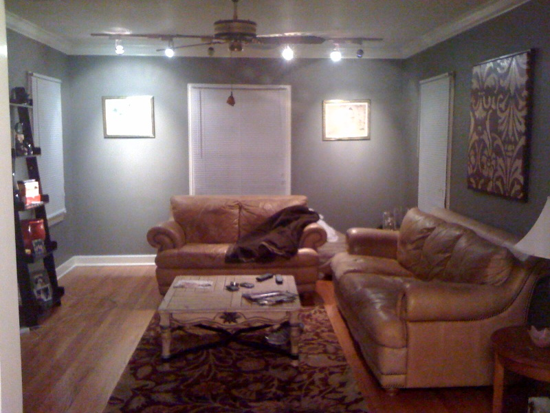 restoration hardware living room via