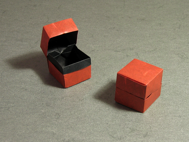 A quick update Box and Lid by Dave Brill  Happy Folding