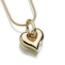 Gold Vermeil Puffed Heart keepsake