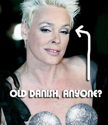 Brigitte Nielsen Appears On German Television Documenting $100,000 Dollars Worth Of Plastic Surgery