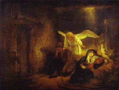 Rembrandt-Dream of St. Joseph