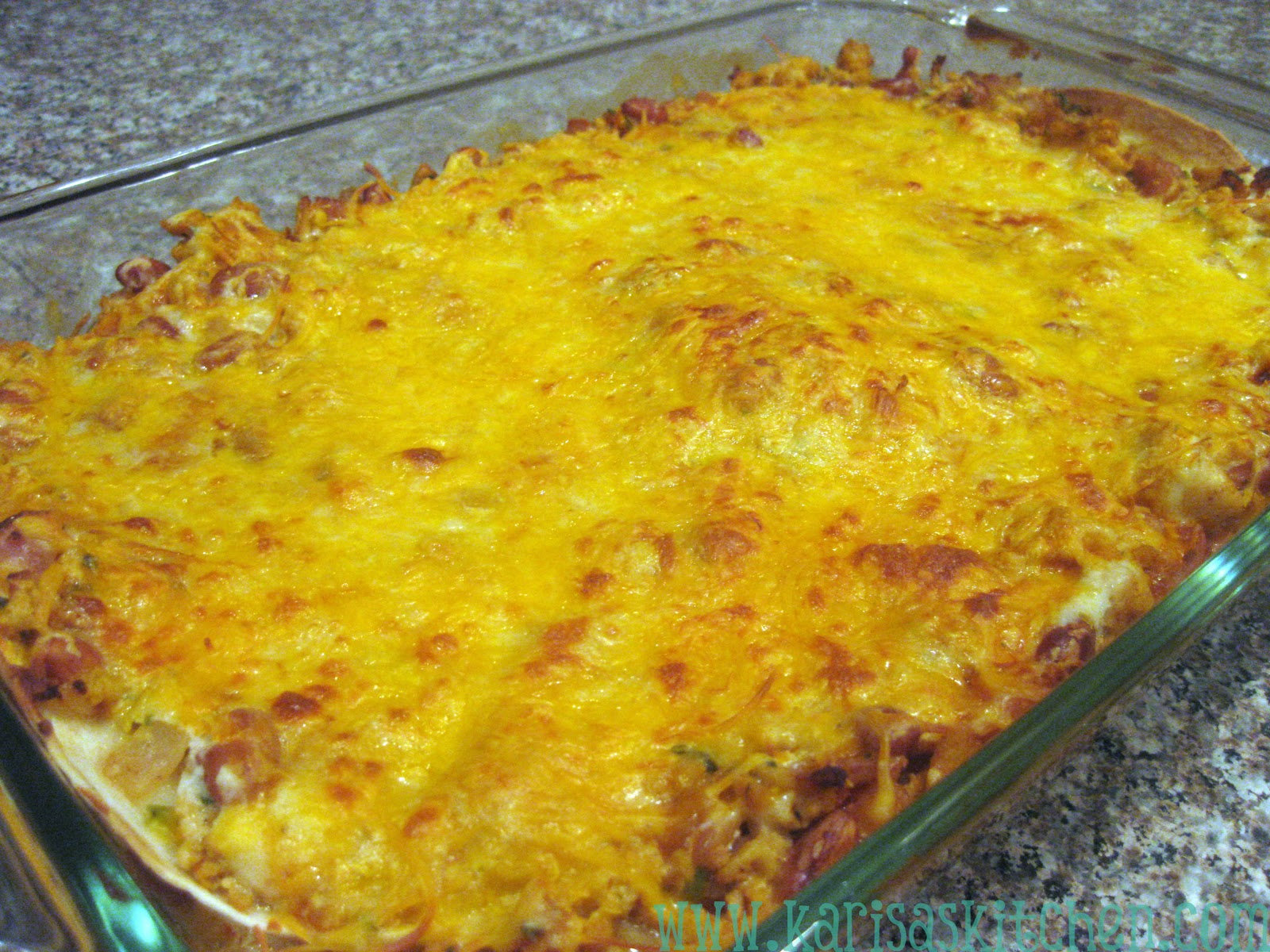 Beef And Bean Enchilada Casserole Recipes — Dishmaps