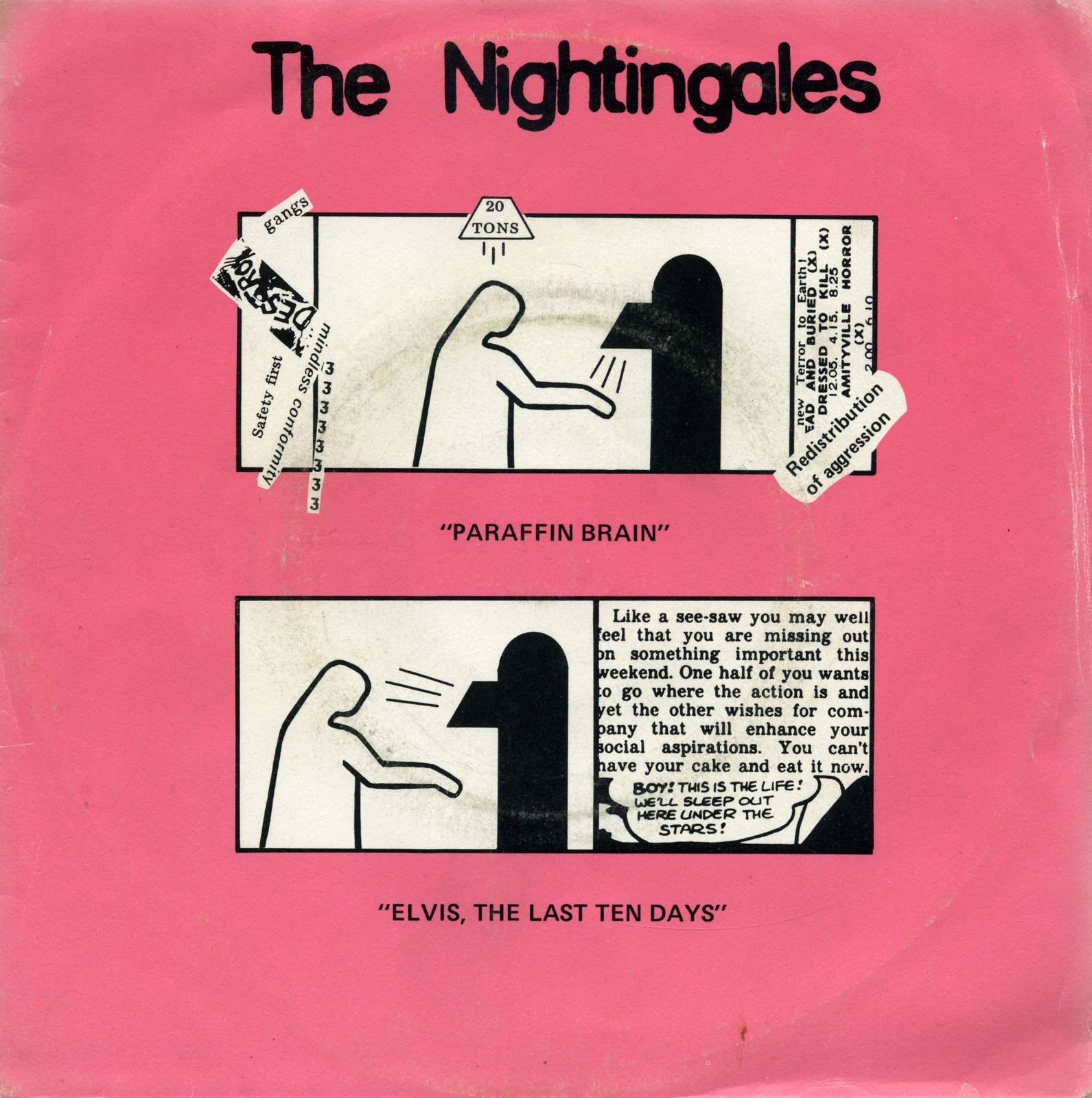 The Nightingales Paraffin Brain ElvisLast Ten Days