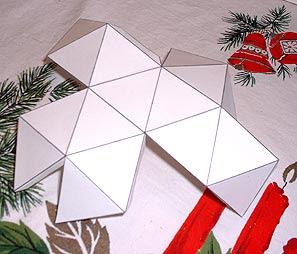 A Beautiful Christmas Card Star