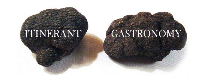 Itinerant Gastronomy