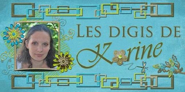 Les digiscraps de Karine