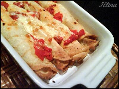 Моите солени палачинки/ I miei pancake salati