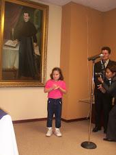 Lily expone sus derechos a los señores y señoras diputados