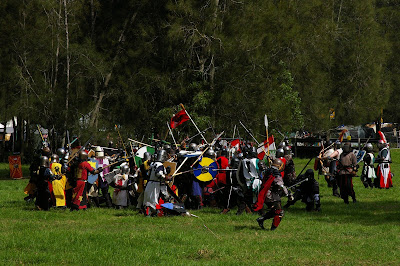 war at Rowany festival