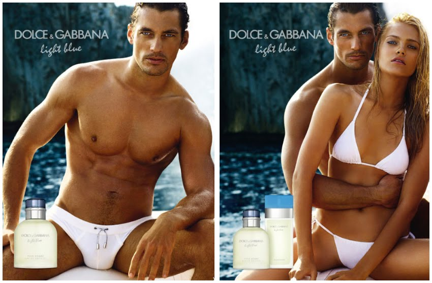 Dolce And Gabbana Light Blue Ads