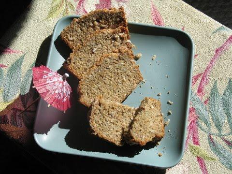 Coconut Pineapple Vegan Banana Bread