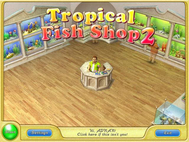Ab official site tropical fish shop 2 for Pet fish games