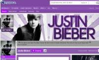 Justin Bieber MySpace