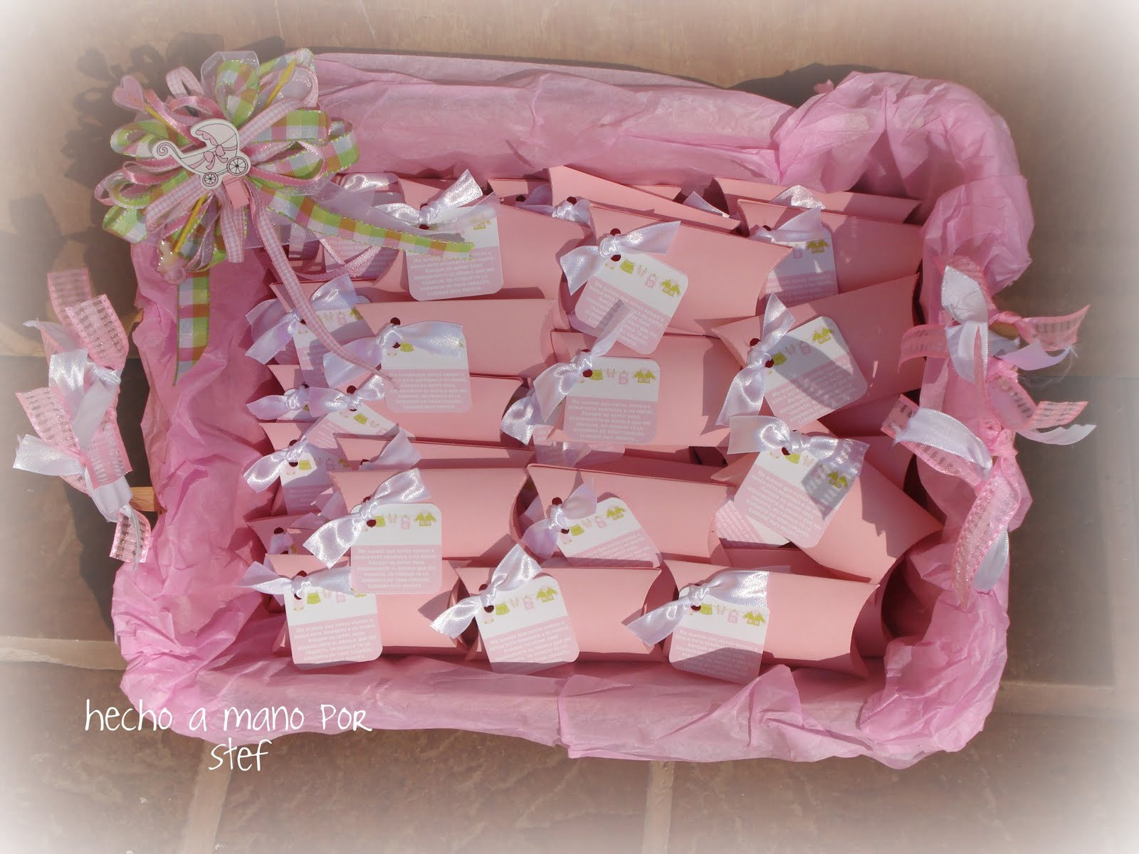 The Fairy´s Workshop =..=El Taller de una Hada=: BAby Shower ...
