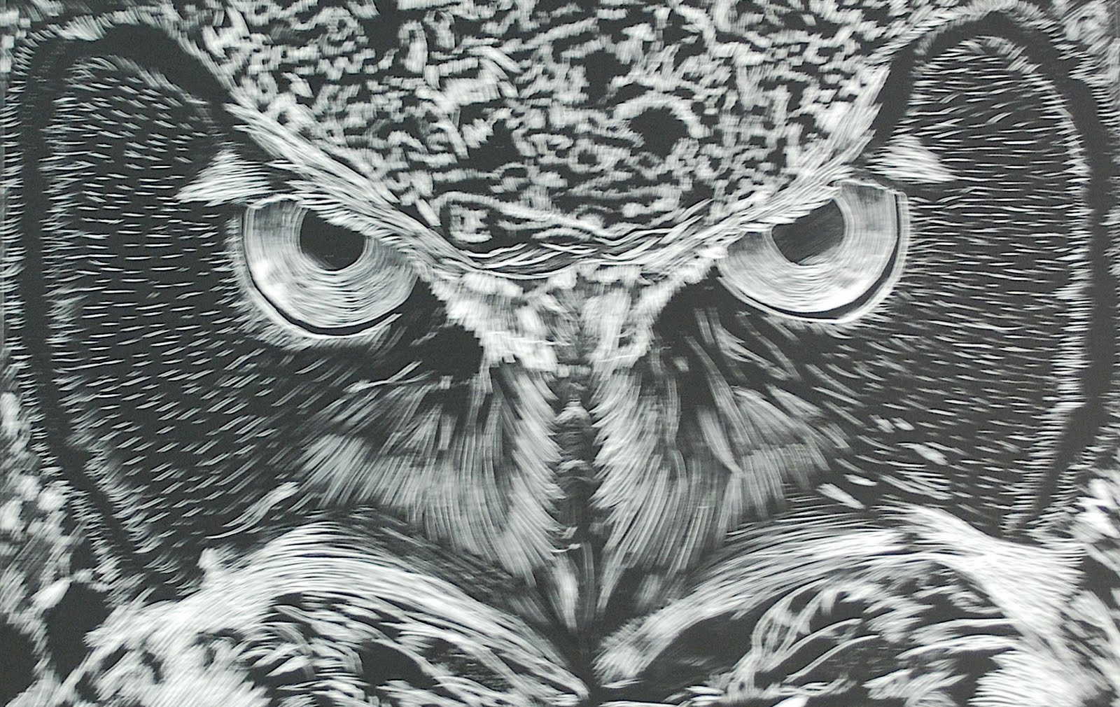 Project Art A Day Lesson 3 Scratchboard