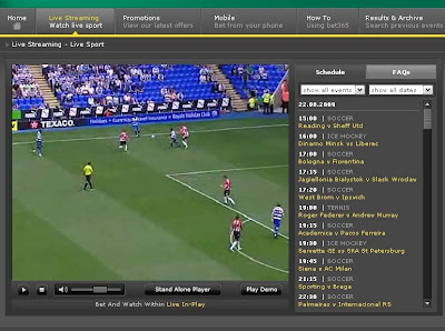 bet365 watch live sport