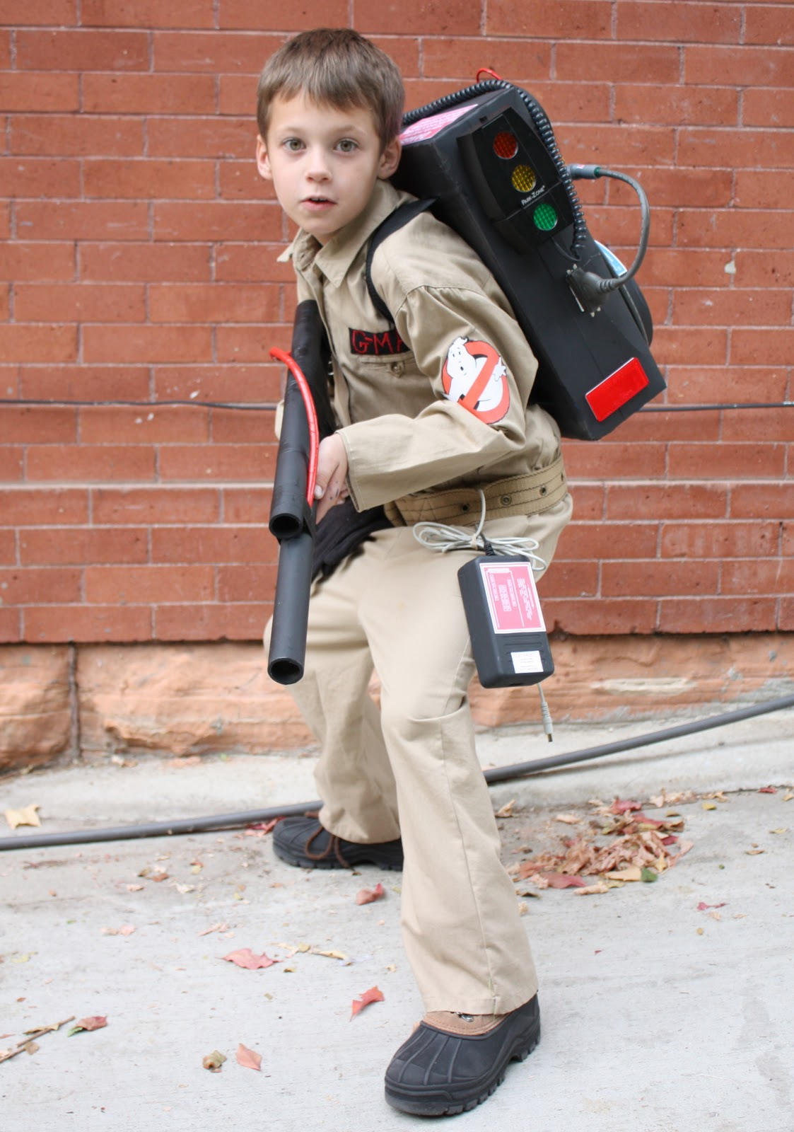At second street who ya gonna call for Diy halloween costumes for kid boy