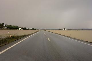 Carretera de La Ina desde Rajamancera