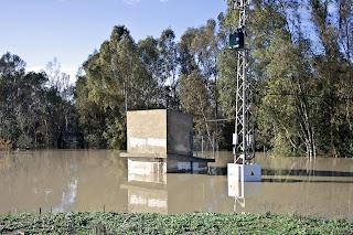 Tranformador inundado