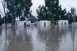 La Corta. Inundaciones de 1996