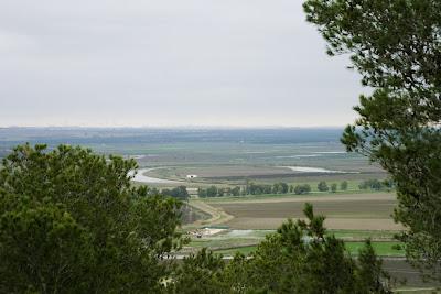 Vista desde el yacimiento de 'Las Cumbres