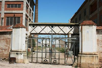 Azucarera del Jalón. Épila(Zaragoza): Acceso