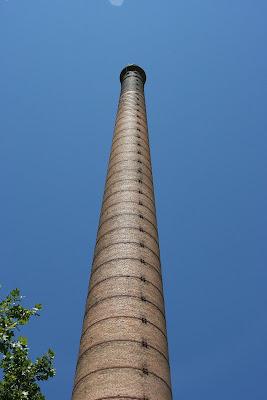 Azucarera del Jalón. Épila (Zaragoza): Chimenea