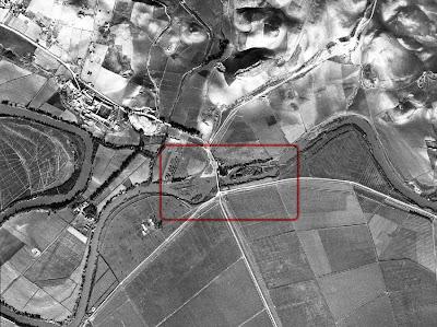 Imagen procedente del 'vuelo americano' de 1956