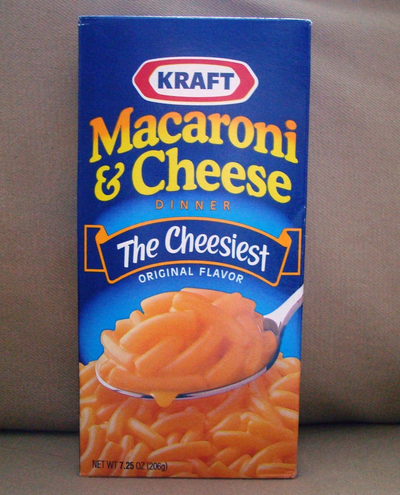 Instant haute meal kraft macaroni and cheese with for Craft macaroni and cheese