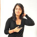 Anushka with Less Make Up in Black Dress  Pics