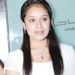 Abinaya Sri in White Churidar Cute Pictures