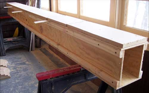 Building a Canoe: 4. Building the Strongback