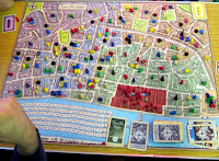 The Great Fire of London 1666 board and components