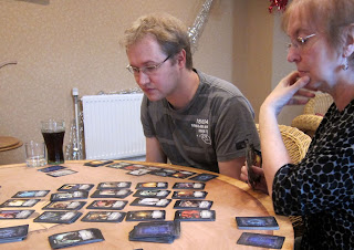 Mikko and Jeany playing Thunderstone