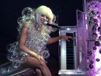 Lady Gaga Bubble Dress. do-it-yourself lady gaga bubble dress - bubbles sold on ebay here.