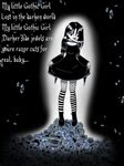Goth Little Girl