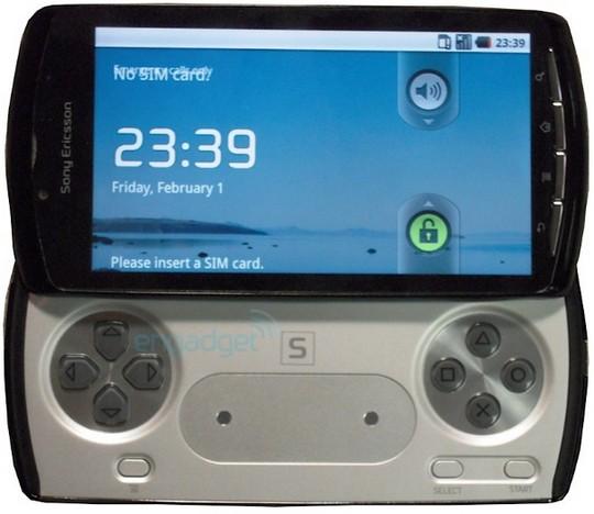 Sony Ericsson PSP Phone Zeus Z1
