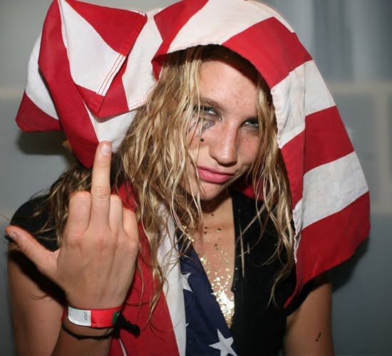 kesha on drugs. but Ke$ha#39;s got my vote