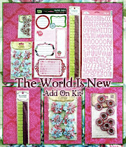 *the world is new* embellishment add on kit