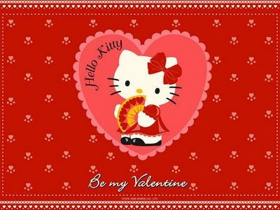 Free Vector Hello Kitty Valentine's Day Vector Clipart Image Preview