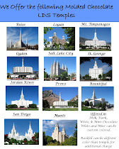 LDS Temple Chocolate Mints