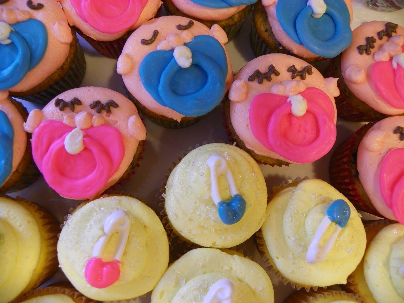Plumeria Cake Studio Baby Doll Birthday Cupcakes