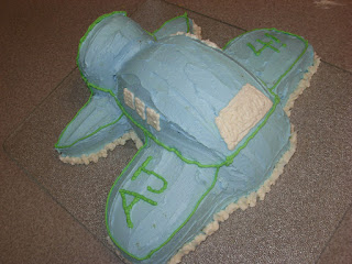 How to make an airplane cake