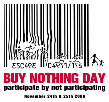 Essay on buy nothing day