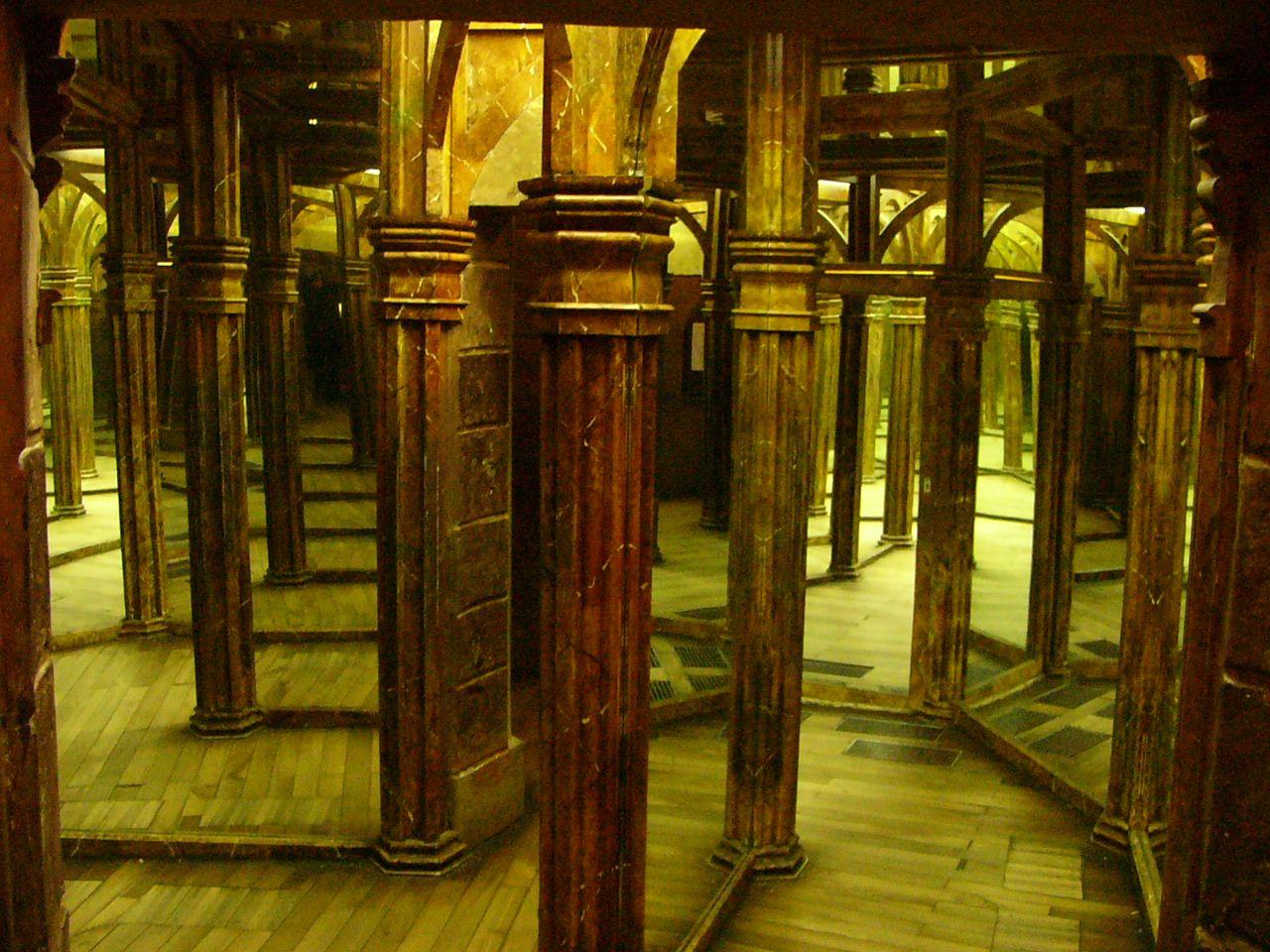 Leuchtspuren der tempel der tausend spiegel for Spiegel eines tages